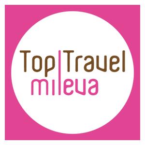 logo top travel mileva agenzia viaggi vicenza cerchio bianco